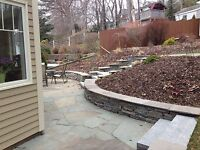 Book now we do it all Professional landscape and design