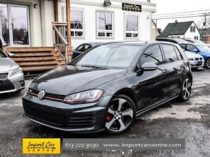 2015 Volkswagen GTI Autobahn LEATHER PANO ROOF BK.CAM WOW!!