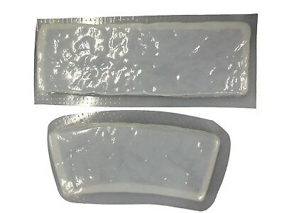 Rock Straight Curved Border Edging Edger Concrete Mold 5017 - Moldcreations
