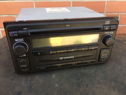 Toyota radio/ CD player