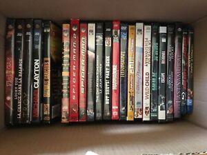 Film DVD où Blu-ray 2$ chaque