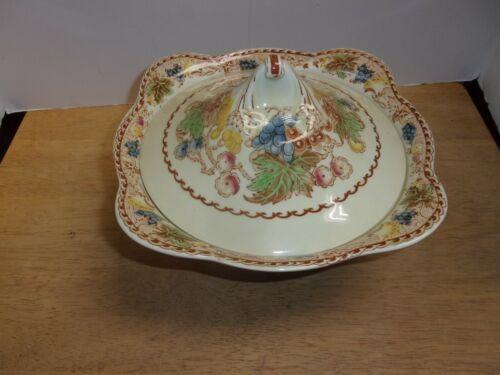 Vintage Woods Burslem England HYDE Enoch 1784 Ralph 1750 Covered Serving Dish