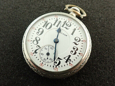 16 SIZE HAMILTON RAILROAD POCKET WATCH GRADE 992 - KEEPING TIME - FROM 1924