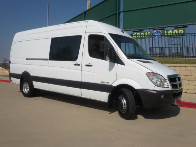 TEXAS OWN DODGE SPRINTER 3500 DULLY EXTENDED CAB ONE OWNER CARFAX CERTIFIED