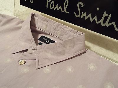 """PAUL SMITH Mens Shirt 🌍 Size M (CHEST 40"""") 🌎 RRP £95+📮 FLORAL DANDELION PRINT"""