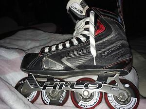 Bauer X50R rollerblades basically new Size 10 1/2 US $90