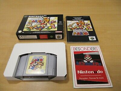 N64 Nintendo 64 Spiel - PAPER MARIO - OVP - PAL - RAR - SELTEN