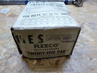 Flexco Conveyor Belt Fasteners 25 Pak 697598 Belts 38 To 12 Thick