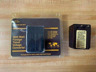 Archer 273-1404 2731402a Voltage Converter 220v To 110v 273-1405 Adapter