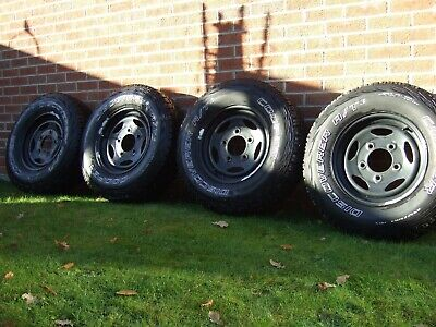 Land Rover Wheels & Tyres 245/75/16
