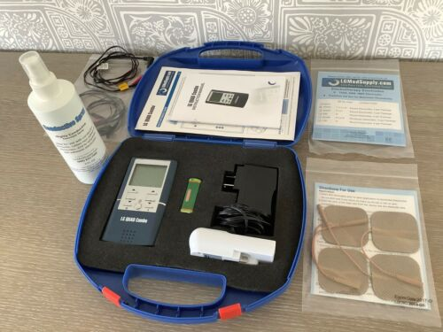 LG Quad Combo 4 in 1: TENS / Muscle Stimulator / Interferential / Microcurrent