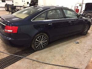 Parting out Audi A6 2005