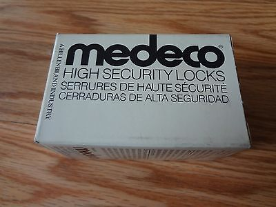 Medeco 32-5575 Mortise Cylinder Housing High Security Locks Satin Bronze 6 Pin