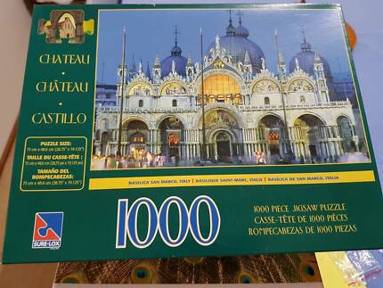 "Jigsaw puzzle ""Chateau"""