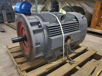 Rebuilt 150 Hp Ge Electric Motor 445tsd Frame 460 Volts 1780 Rpm Sf 1.15 E-ok