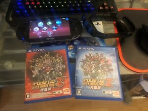 Playsation vita (PSV,PS vita)and two games