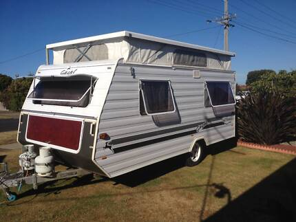 1998 Infinity Gazal 13ft poptop caravan Devonport Devonport Area Preview