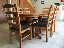 6 Seat Dining Table Richmond Yarra Area Preview