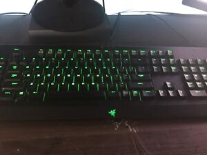 Razer mouse and keyboard