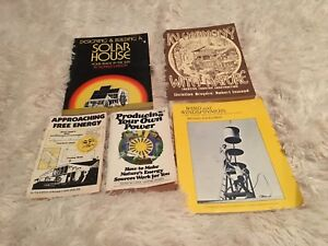 5 vintage solar power/environmental how-to books