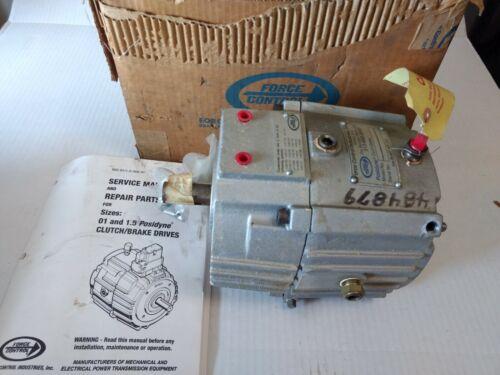 force control industries, inc. posidyne 01-3s3-h105-1 clutch/brake