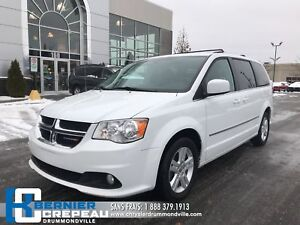 2017 Dodge Grand Caravan Crew Plus **CAMERA, CUIR, BANCS CHAUFFA