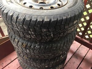 225/75r16 Tires and rims