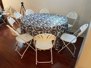 Party and Tent Rentals: Chairs, tables