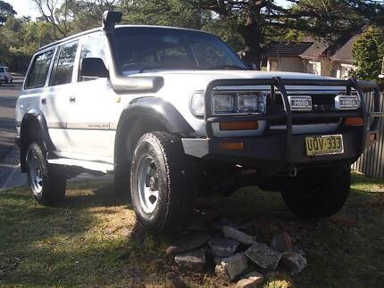 80 Series LandCruiser 1994 Toyota Wagon St Leonards Willoughby Area Preview
