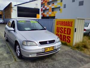 2001 Holden Astra Hatchback 1 Year Warranty Woy Woy Gosford Area Preview