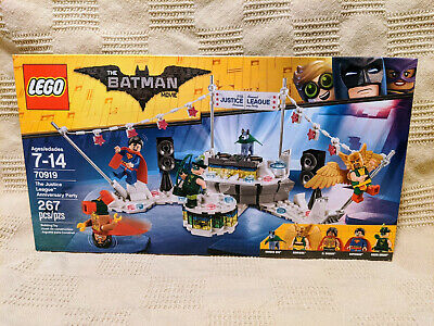 NEW LEGO Batman Movie Justice League Anniversary Party 70919 [Retired]