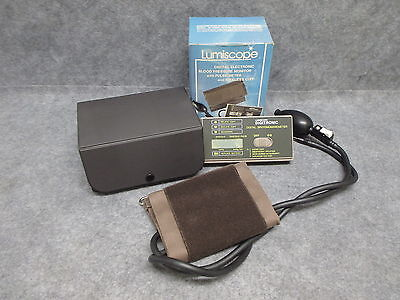 Lumiscope Digital Electronic Blood Pressure Monitor w/ Pulse Meter Model 1060N