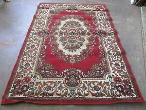 D5084 Lovely Red LISA AFBOREN Persin Floor Rug Mat BELGIUM Mount Barker Mount Barker Area Preview
