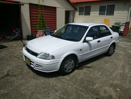 Ford Laser LXi 2001 KN/KQ Sedan Cardiff Lake Macquarie Area Preview