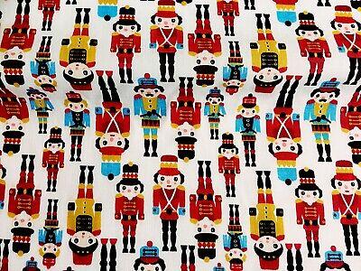 Toy Soilder Costume (REMNANT OFFCUT TOY SOILDER NUTCRACKER  65 cm x 110 cm CRAFT)