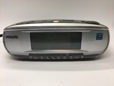 Philips AJ3010 Alarm Clock AM/FM Radio - Tested - Read Description