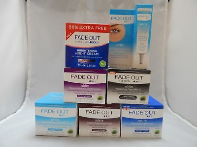 FADE OUT WHITE DAY, NIGHT & EYE SKIN LIGHTNING CREAMS !SUPER BUY!! BEST