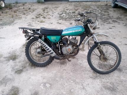 Suzuki tc 100
