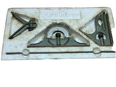 Mitutoyo 180-301B Protractor Head Cast Iron not Hardened