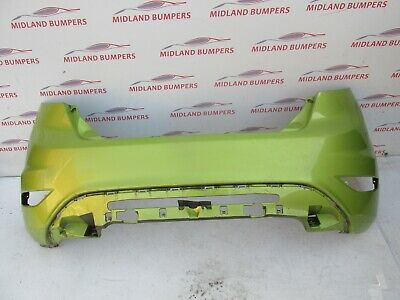 FORD FIESTA 2008-2016 REAR BUMPER- GENUINE IN GREEN