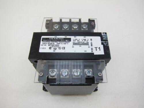 Siemens MTG0100C Industrial Power Transformer 120/240V 100VA