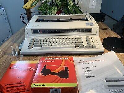 Ibm Wheelwriter 1000 By Lexmark Electric Typewriter 6781-024 Tested