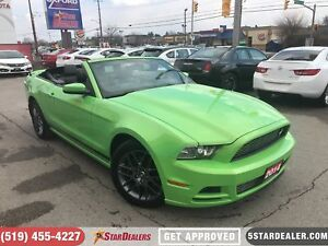 2014 Ford Mustang V6 Premium | LEATHER | V6 | SAT RADIO