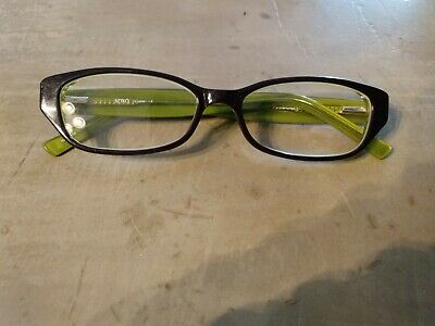 XOXO HIPSTER Eyeglasses Green Crystal Purple  (Green Hipster Glasses)