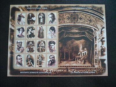 Stamps - Serbia - Scott# 190 - Souvenir Sheet