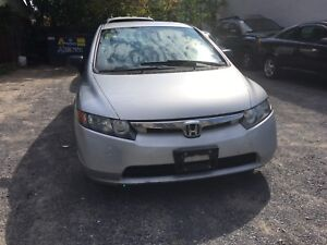 2006 Honda Civic Safetied and E-Tested!