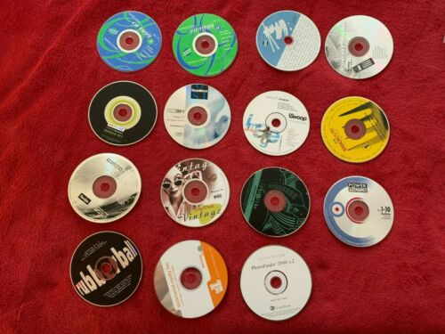 Stock Photos Photography Royalty Free Images - Sampler/Comping Lot of 15 CDROM C