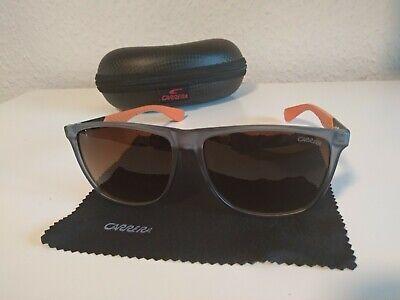Carrera Sonnenbrille Blau Durchsichtig/Orange Polarisiert Herren Mit schutz!