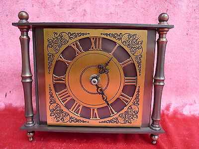 antique mantel clock__probably Bronze__18cm