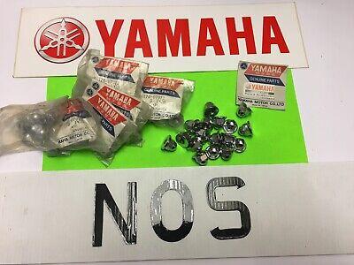 <em>YAMAHA</em> XS500TX500 ENGINE CAMSHAFT TENSIONER NUT JOB LOT 47PCSRRP4